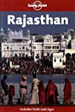 Front cover for the book Lonely Planet Rajasthan by Monique Choy