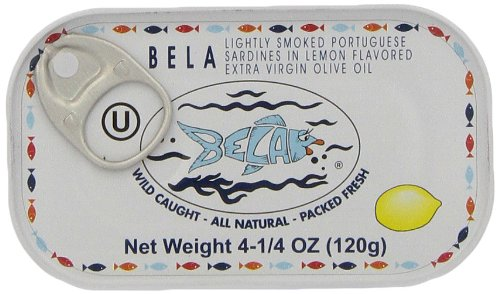 Bela Olhao Lightly Smoked Sardines In Olive Oil 4 25