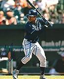 Signed Mallex Smith Photograph - 8x10 COA A - Autographed MLB Photos