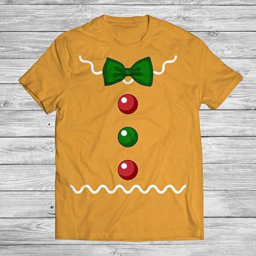 Gingerbread Man Costume Halloween Christmas Holiday Customized Handmade T-shirt/Hoodie / Sweater/Long Sleeve/Tank Top/Premium T-shirt ()