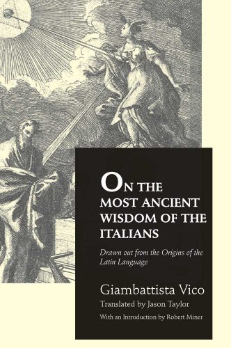 (On the Most Ancient Wisdom of the Italians)