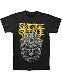 Suicide Silence Mens Skull Kingdom Yellow T-Shirt