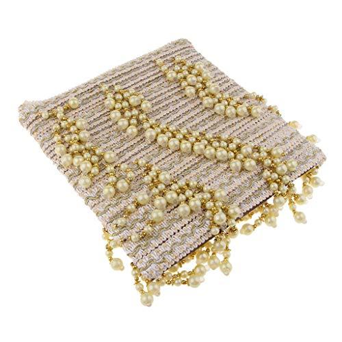 Briaded Curtain Fringe Curtain Sofa Tablecloth Accessories Trim DIY Decor | Color - - Trim Bedding Cradle