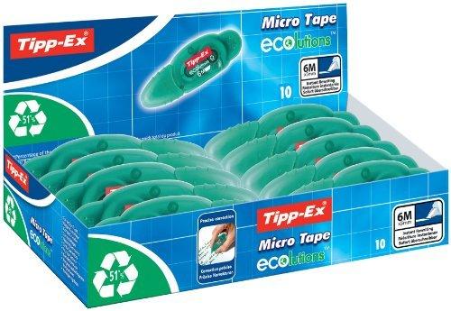 Tipp Ex ECOlutions Correction Tape 5mm x 6m (Display Box 10)