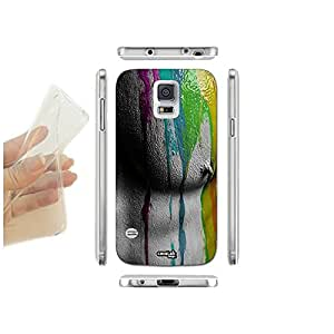 FUNDA CARCASA SLIM ART BODY PINK PARA SAMSUNG GALAXY S5 G900D LTE DUAL TPU