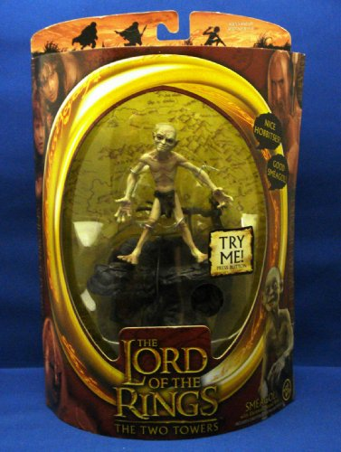 SMEAGOL with Electronic Sound Base from THE LORD OF THE RINGS: THE TWO TOWERS Action -