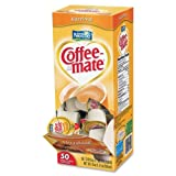 Coffee-Mate Liquid Creamer Singles - Hazelnut Flavor - 0.38 fl oz - 1/Box