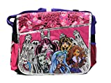 Black and Pink Classmates Monster High Messenger Laptop Bag Review