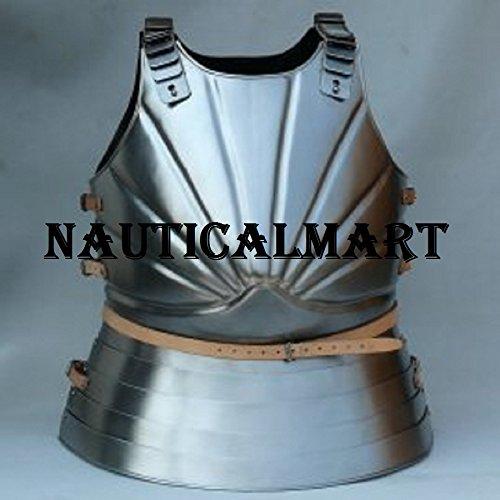 NAUTICALMART Plate Armour Steel Fantasy Medieval Costume Breastplate
