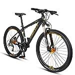 NENGGE 27.5 Pollici Mountain Bike, Adulti Uomo 27 velocità Mountain Biciclette, Telaio Alluminio, Freni a Disco…