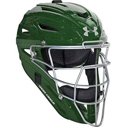 Amazoncom Under Armour Youth Pro Style Catchers Helmet Sports