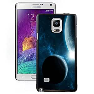 New Fashionable Designed For Samsung Galaxy Note 4 N910A N910T N910P N910V N910R4 Phone Case With Earth and Moon Phone Case Cover