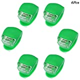 Cheap Beeagle- 6Pcs Silicone beetle frog LED Mountain Bike Bicycle Headlights Tail Warning Lights Green