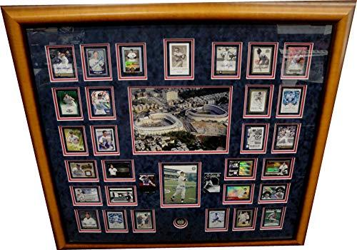 - Derek Jeter Joe Dimaggio Mickey Mantle Aaron Judge NY Yankees Collage Framed