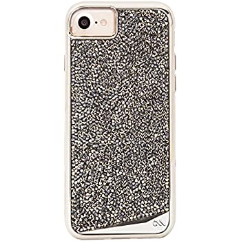 Case-Mate iPhone 7 Case - BRILLIANCE - 800+ Genuine Crystals - Protective Design for Apple iPhone 7 and iPhone 6 - Champagne