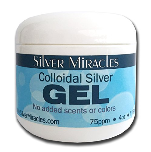 Silver Miracles Colloidal Gel 4oz product image