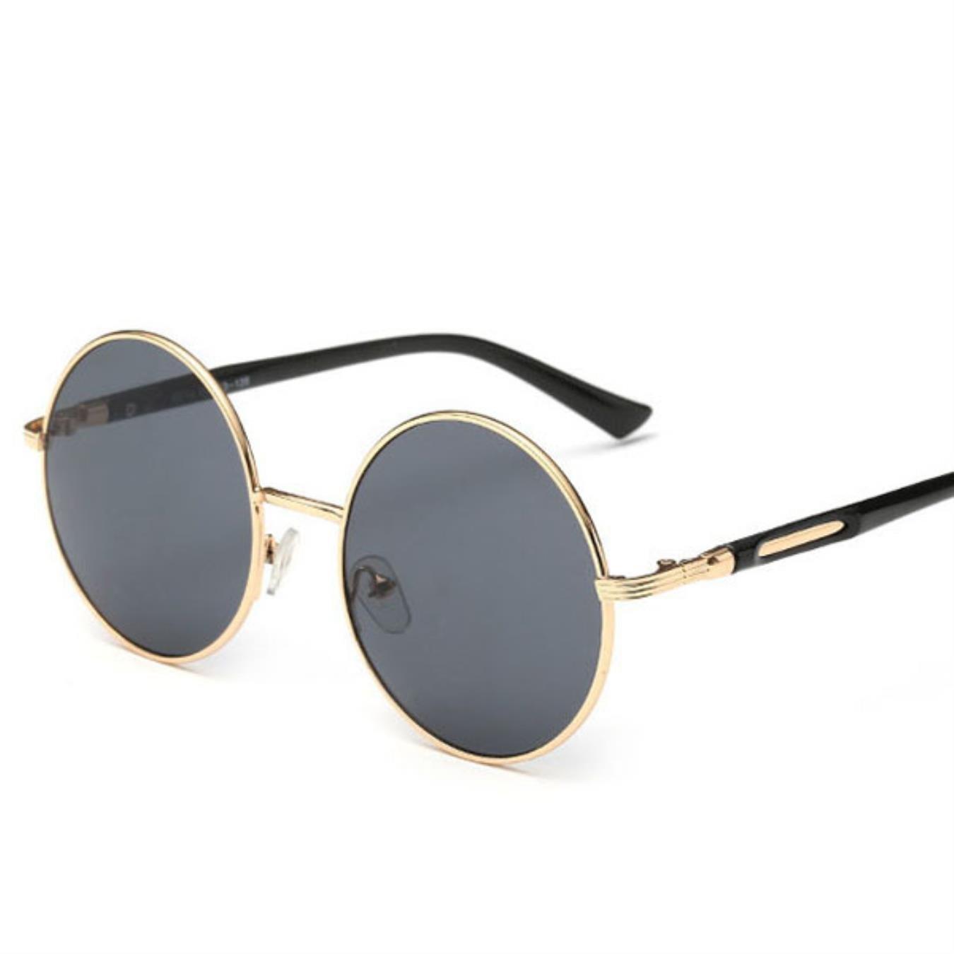 Amazon.com: Gafas de sol redondas para mujer, gafas de sol ...