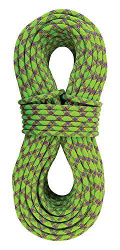 (Sterling Rope Evolution Velocity Climbing Rope, Neon Green,)