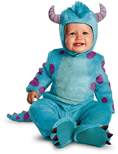Official Disney Costumes (Disguise Costumes Disney Pixar Monsters University Sulley Classic Infant, Blue/Purple, 12-18 Months)