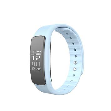 Fitness Tracker, sununitec i6hr Heart Rate Monitor Smartband IP67 ...