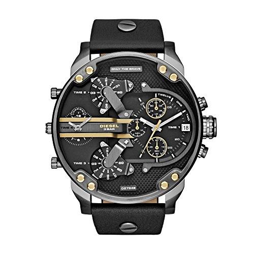 Diesel Men's Mr. Daddy 2.0 Stainless Steel Chronograph Quartz Watch
