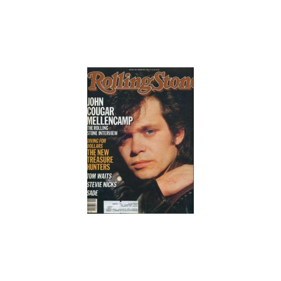 Rolling Stone Magazine Jan. 30, 1985 Issue 466 John Cougar Mellencamp Cover