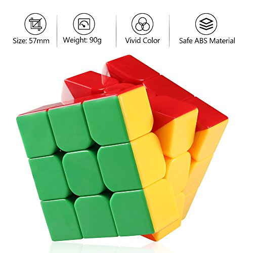 D-FantiX Moyu Aolong V2 Stickerless 3x3 Speed Cube Magic Cube Puzzles Enhanced Version