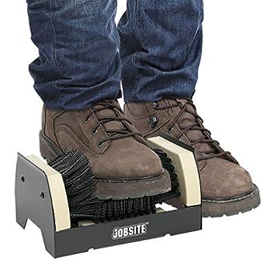 JobSite The Original Boot Scrubber - All Weather Industrial Shoe Cleaner & Scraper Brush