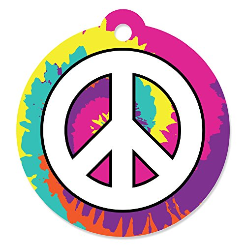 (60's Hippie - 1960s Groovy Party Favor Gift Tags (Set of 20))
