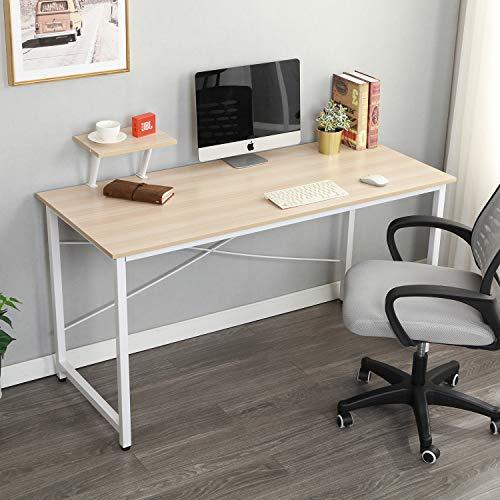 soges Computer Desk with Shelf 55.1