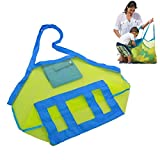 Marrywindix Beach Mesh Bag Tote Stay Away From Sand for the Beach Family Children Play (Swim, Toys, Boating -XL Size)