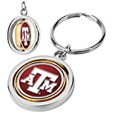 Texas A&M Aggies - Spinner Key Chain One Size Silver