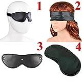 Eye Mask Shade Cover Blindfold Travel Sleep Aid Cover Light,BDSM Bondage,Sleep Eyeshade Binder,Sex Toys for Couple Style 3 Blindfold