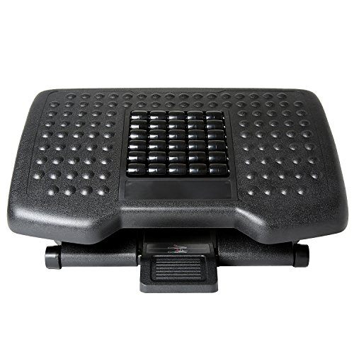 Ivation Adjustable Massage Footrest Rollers