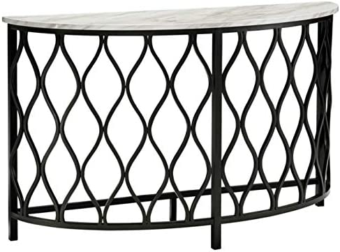 Signature Design by Ashley – Trinson Console Table, Faux Marble