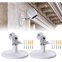 EEEKit 2-pack Outdoor/Indoor Wall Mount for Arlo Pro 2, Arlo Pro, Arlo, Arlo Go Security Camera, 360 Degree Adjustable Ceiling Mount for CCTV Camera Other Compatible Smart Home Camera
