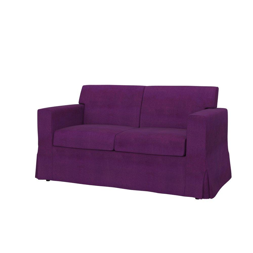 soferia – Ikea Sandby 2-seatソファーカバー、Sensesパープル   B01MV6BPQV