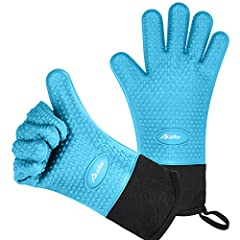 A MUST HAVE IN YOUR MORDERN KITCHEN! Auzilar Professional Oven Gloves give you extra protection from burns and scalds during all of your cooking activities. Enhance your cooking enjoyment and protect yourself from painful burns and scalds by ...