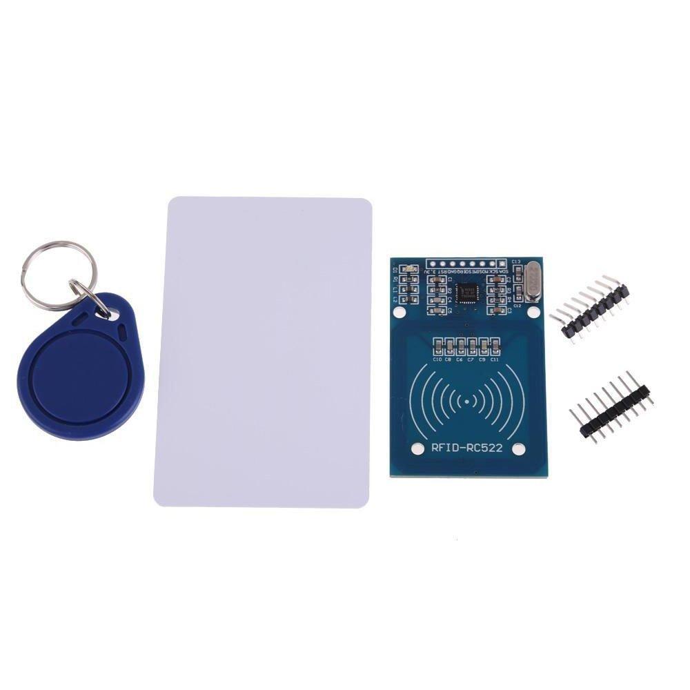 SoluMifare Rc522 Card Read Antenna Rf Module Rfid Reader Ic Card Proximity Module/13.56mhz 14443a Mifare Rc522 Rf Rfid Writer Reader Ic Card with S50 for Arduino