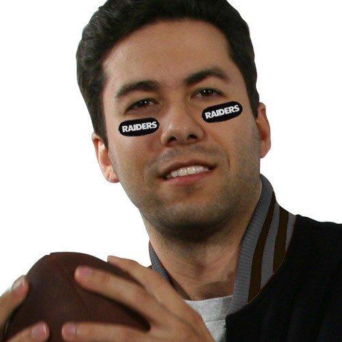 NFL Oakland Raiders Decorative Eye Strips