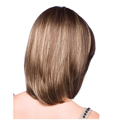 Hot produits produits résistant à la chaleur Bobo Mélange synthétique Couleurs Cheveux. Meisi # brun/blond doré Perruques courtes pour femmes