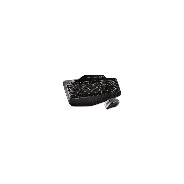 Logitech Wireless Desktop MK710 - Keyboard - wireless - 2...