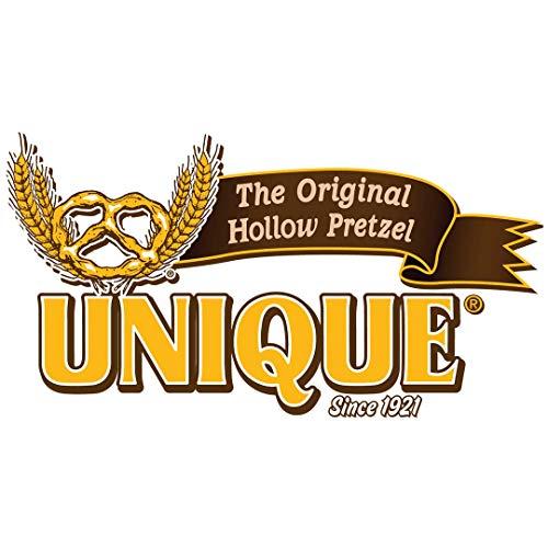 Unique Pretzels - Original Pretzel Shells, Delicious Vegan Snack Pretzels Individual Pack, Large OU Kosher Pretzels, 10 Oz Bags, 12 Pack (10 Shells)