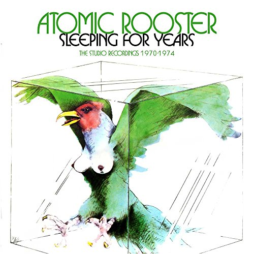 Sleeping For Years ~ The Studio Recordings 1970-1974: 4 Clamshell Boxset /  Atomic ()