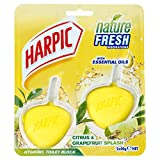 Harpic Hygienic Toilet Rim Block Twin pack - Citrus & Grapefruit, Pack of 6