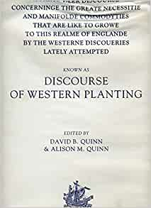 Discourse of Western Planting