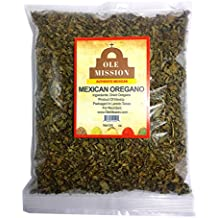 Mexican Oregano Dried Organic 3 oz For Mole, Pozole, Taco Seasoning, Tamales, Salsa, Chili, Meats, Soups, Stews by Ole Mission