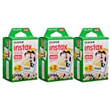 Fujifilm Instax Mini Instant Film (3 Twin Packs, 60 Total Pictures) - International Version