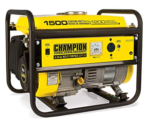 Champion 1200-Watt Portable Generator (Pack of 1)