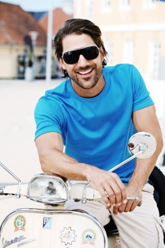 Tee Jays Herren Figurbetontes Interlock T-Shirt 520 Olive S